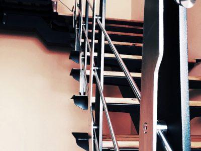 Brothesign Custom Metal Stairway