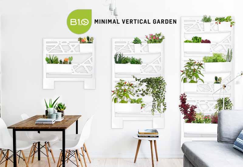 Minimal Vertical Garden