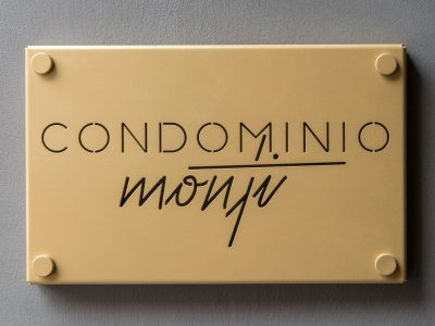 Brothesign Cond. Monti Metal Sign